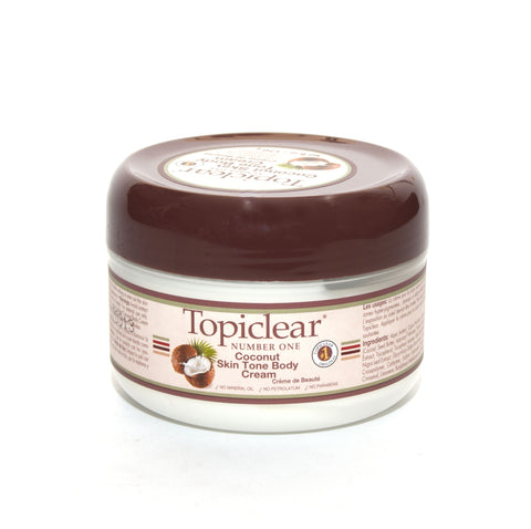 Topiclear Coconut Skin Tone Body Cream - Elysee Star