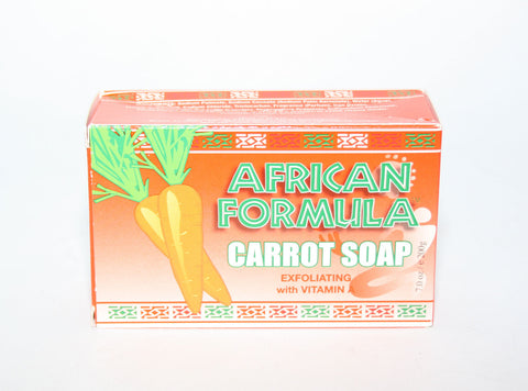 AFRICAN FORMULA CARROT SOAP (2005G) - Elysee Star