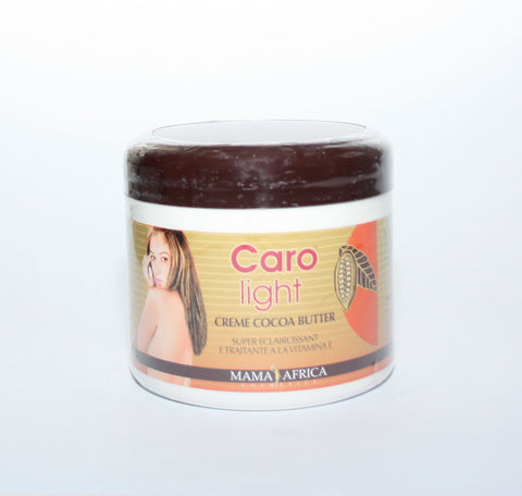 Caro Light Cocoa Butter Cream  (Jar) by Mama Africa - Elysee Star