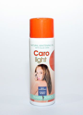 Caro Light Natural Whitening Oil With Aloe Vera