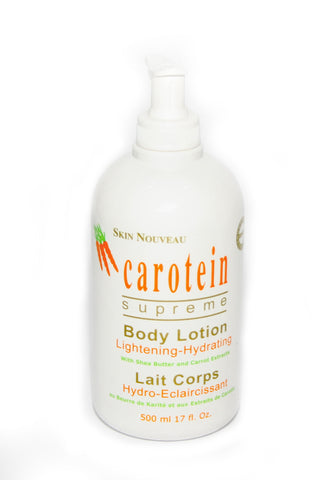Carotein Supereme Lightening Body Lotion - Elysee Star