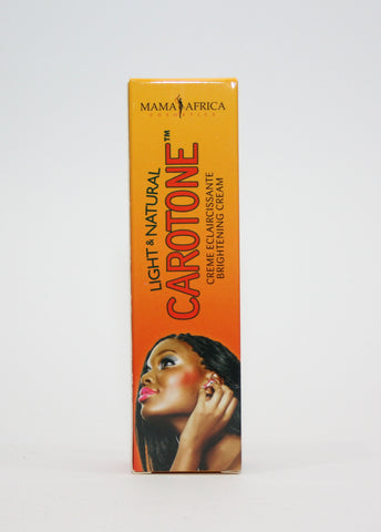 Carotone Brightening Cream (Tube) by Mama Africa - Elysee Star