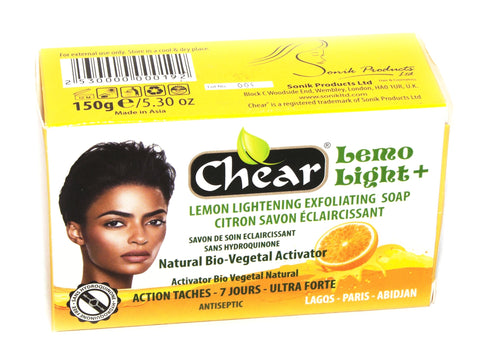 Chear Lemo Light+ Lightening Exfoliating Soap - Elysee Star