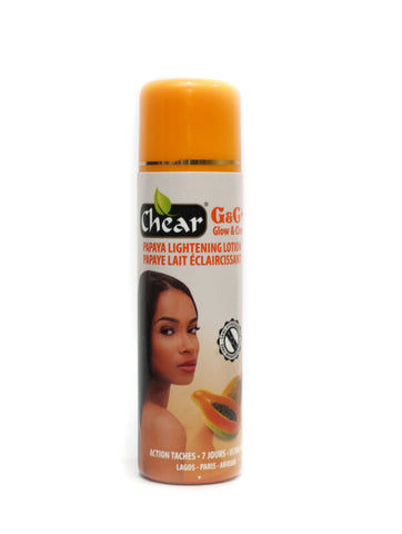 Chear G&C+ Glow & Clear  Papaya Lightening Lotion - Elysee Star
