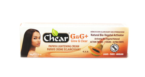 Chear G&C+ Glow & Clear  Papaya Lightening Cream (tube)