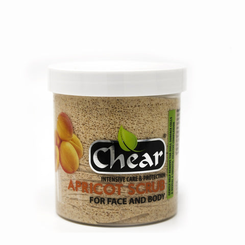 Chear Apricot Scrub Cream For Face & Body - Elysee Star
