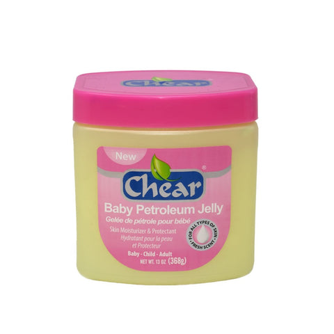 Chear Baby Petroleum Jelly is a Skin Moisturiser which has been specially developed to help protect delicate baby skin.