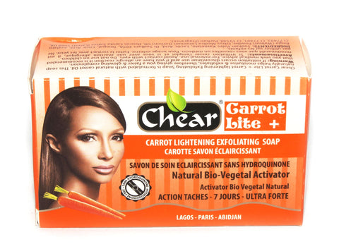 Chear Carrot Lite +  Carrot Lightening Exfoliating Soap - Elysee Star