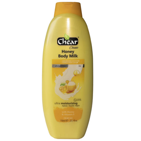 Chear Honey & Vitamin E Ultra Moisturising Hand & Body Milk - Elysee Star