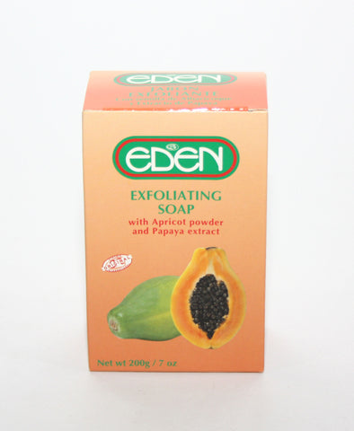 Eden Exfoliating Soap With Apricot Powder & Papaya Extract - Elysee Star