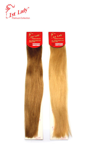 1st Lady Euro Silky Straight Human Hair Weft  26""