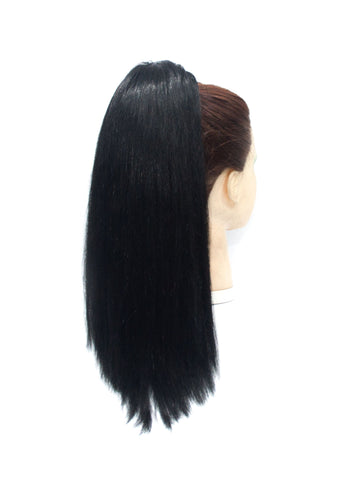 1st Lady Euro-1 draw string pony human hair extensions - Elysee Star