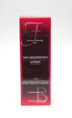 Fair & Balance Skin Brightening Lotion