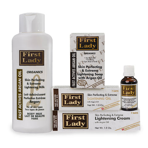 First Lady Fast Actives Argan KIT (5) - Elysee Star
