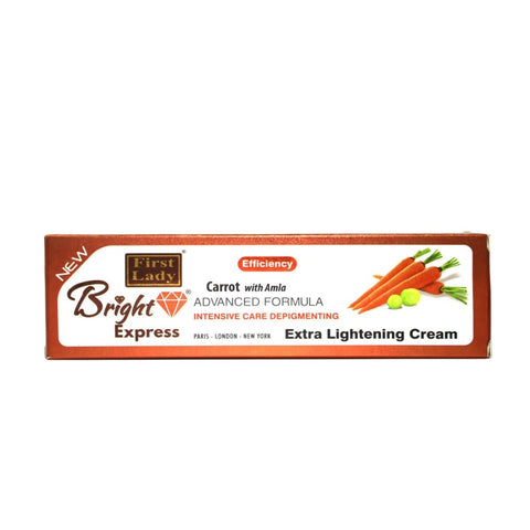 First Lady Bright Express Carrot with Amla Extra Lightening Cream (tube) - Elysee Star