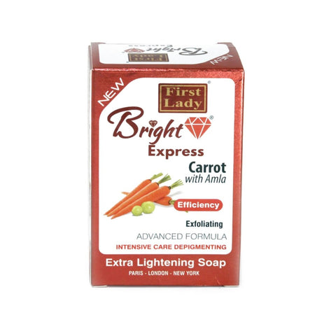 First Lady Bright Express Carrot with Amla Lightening Soap - Elysee Star