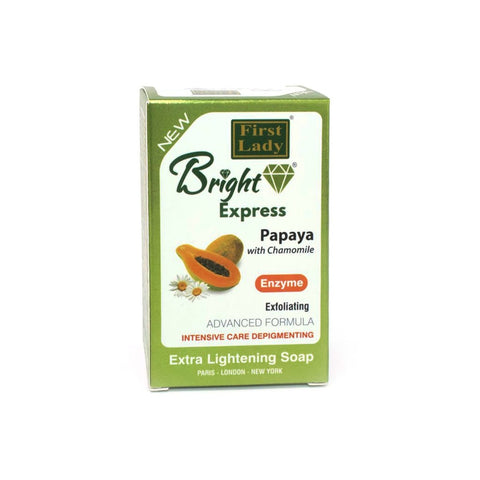 First Lady Bright Express Papaya with Chamomile Soap - Elysee Star