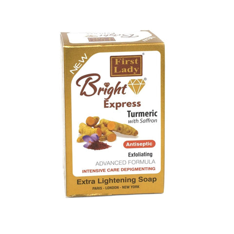 First Lady Bright Express Turmeric with Saffron Soap - Elysee Star