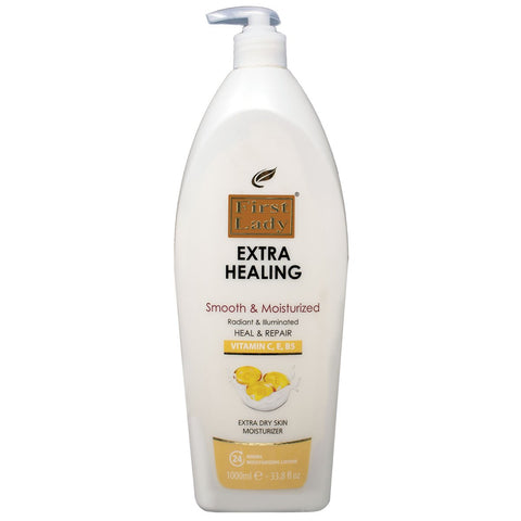 First Lady Extra Healing Vitamin C, E & B5 Moisturizing Lotion