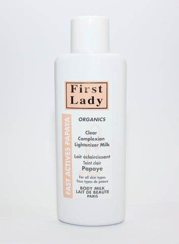 First Lady Fast Actives Papaya Milk