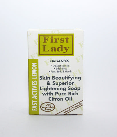 First Lady Fast Actives Lemon Soap - Elysee Star