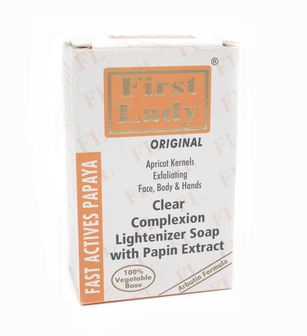 Firstlady Fast Actives Papaya Soap - Elysee Star