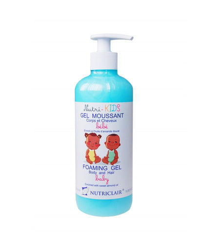 Nutriclair Nutri Kids Hair & Body Foaming Gel - Elysee Star