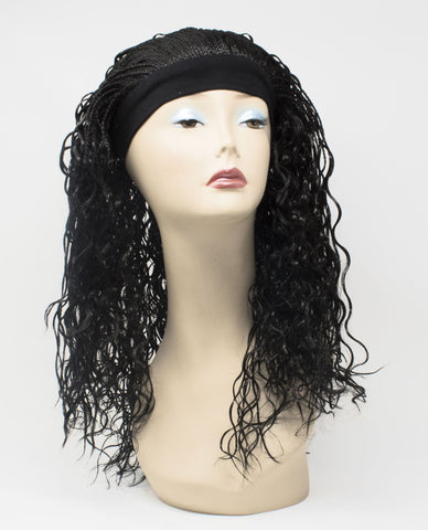 FOLA SYNTHETIC HAIR WIG WITH HEADBAND BY ELYSEE STAR - Elysee Star
