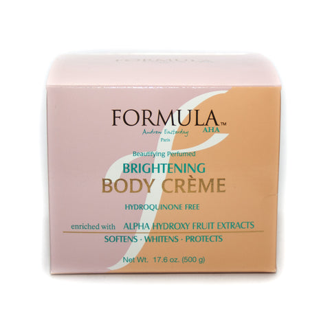 Formula Beautifying Perfumed Brightening Body Creme (jar)