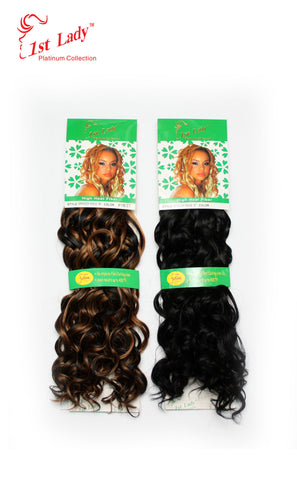 1st Lady Futura Spanish Wave Weft 18""