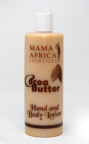 Mama Africa Cocoa Butter Hand & Body Moisturising Lotion - Elysee Star