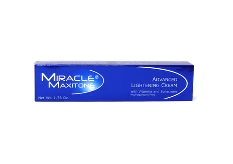 Miracle Maxitone Advanced Lightening Cream with Vitamins and Sunscreen - Elysee Star