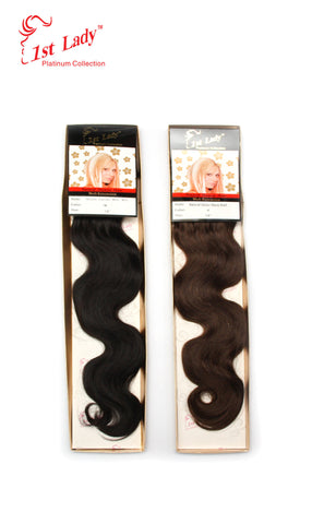 1st Lady Natural ITALIAN WAVE  Weft 18""