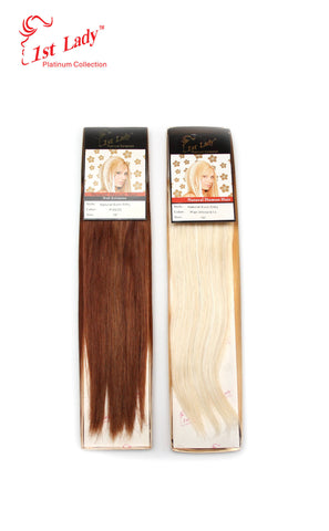 1st Lady Natural Euro Silky Straight Weft 16""