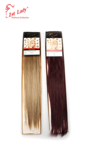 1st Lady Natural Euro Silky Straight Weft 22""