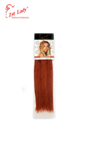 "1st Lady Natural Euro Silky Straight Blended Human Hair Weft 12"" - Elysee Star"