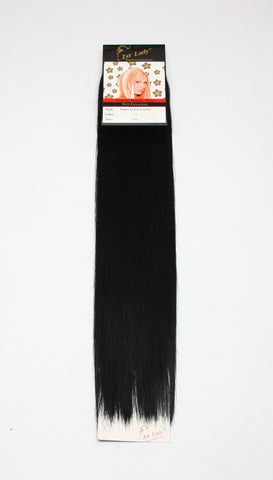 "1st Lady Natural Euro Silky Straight Blended Human Hair Weft 22"" - Elysee Star"