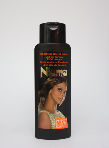 Niuma Lightening Carrot Lotion - Elysee Star