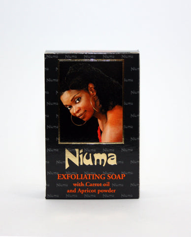 Niuma Carrot Exfoliating Soap - Elysee Star