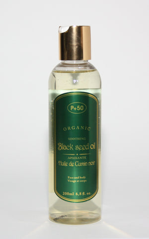 P+50 Black Seed Oil - Elysee Star
