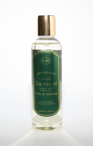 P50 tea tree oil