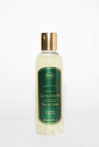 P+50 Cocoa Butter Oil - Elysee Star