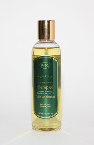P+50 Hemp Oil - Elysee Star