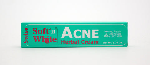 Soft N White Acne Cream - Elysee Star