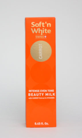 Soft'n white carrot milk