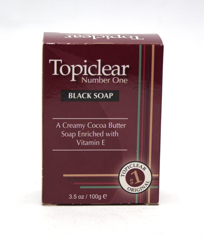 Topiclear Number One Black Soap - Elysee Star