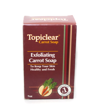 Topiclear Carrot Exfoliating soap