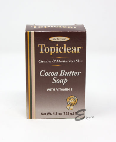 Topiclear Cocoa Butter Soap with Vitamin E (125g) - Elysee Star