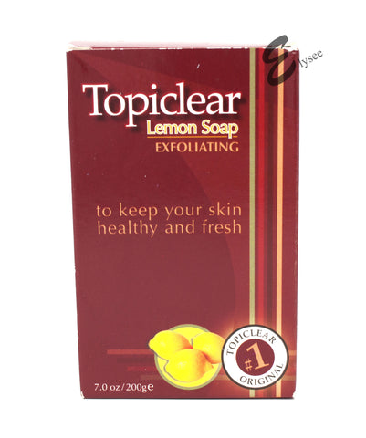 Topiclear Lemon Exfoliating Soap - Elysee Star