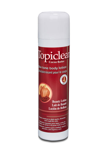 Topiclear Cocoa Butter Lotion (skin tone) - Elysee Star